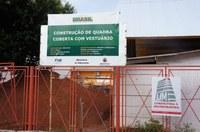 Fiscalização: Presidente solicita informações sobre obra do ginásio da Escola Nossa Senhora Aparecida