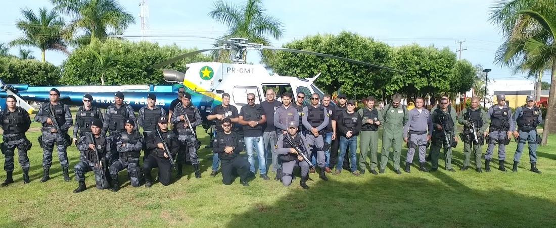 Forças de Segurança Pública realiza Operação Integrada em Ipiranga do Norte