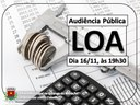 Lei Orçamentária Anual será discutida nesta quinta-feira em audiência pública