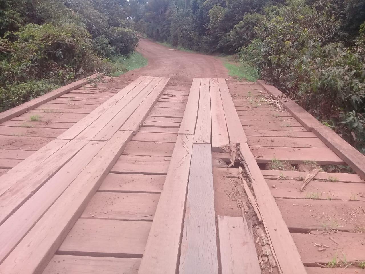 Marcos Vargas cobra manutenção em ponte do Rio Branco