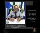 Nota de Pesar por Ney de Paula Teixeira