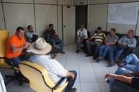 Reunião com chacareiros discute problemas de alagamento no Parque das Emas
