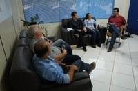 Reunião com lideranças locais discute articulação sobre a qualidade do sinal de telefonia móvel em Ipiranga do Norte