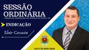 Vereador Eluir Cavasin faz indicação sobre a necessidade da criação de espaço social de lazer