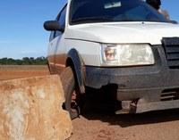 Vereadores cobram retirada das barreiras de concreto no trânsito de Ipiranga do Norte