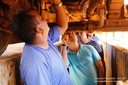 Vereadores vistoriam frota de ônibus escolares de Ipiranga do Norte