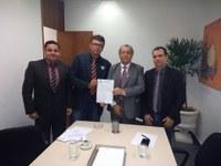 Veredores reúnem-se com parlamentares federais para tratar de assuntos de interesse de Ipiranga do Norte